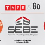 Tape&Go – trade shows in April 2019.